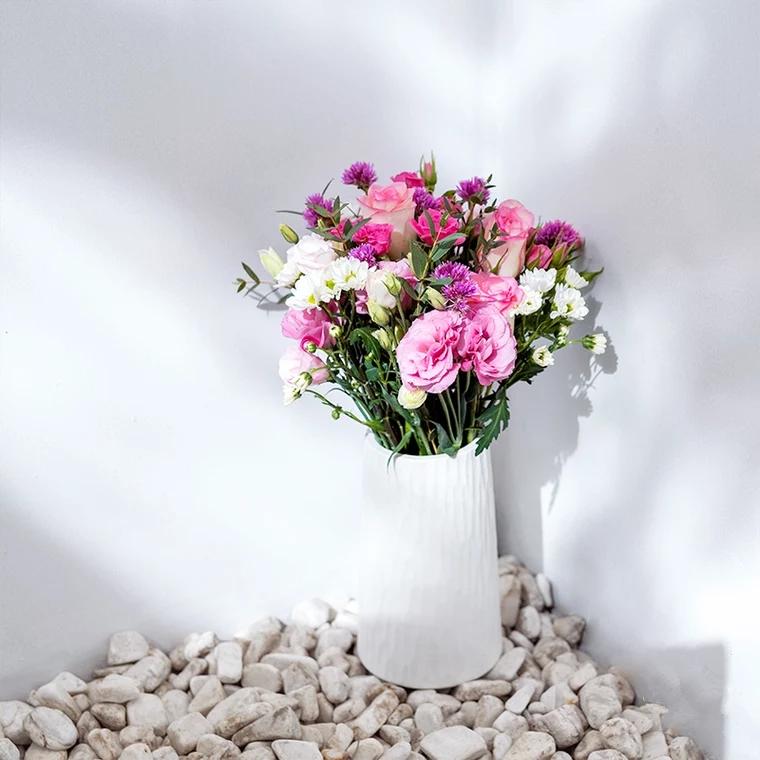 混搭鲜花|每周一束|每月4束|鲜花包月|精选花材|新用户赠送花瓶
