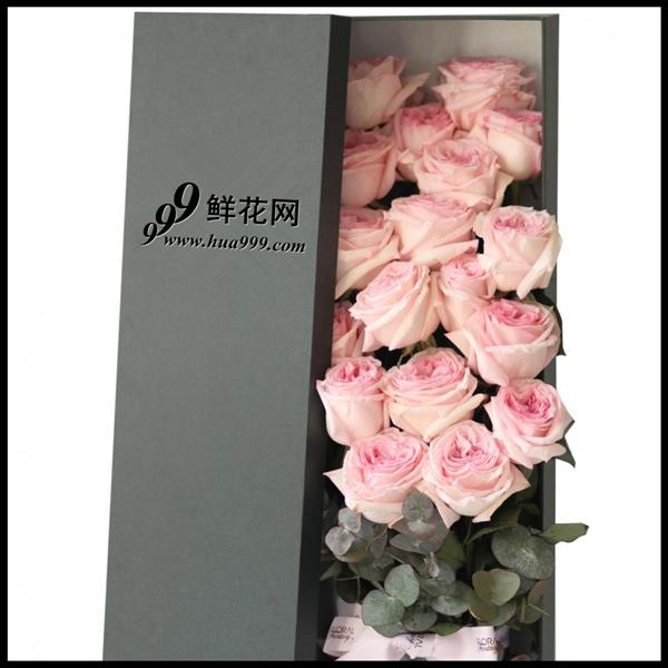 18朵 Pink Lover 厄瓜多尔玫瑰-粉色恋人