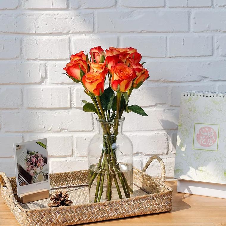 单品鲜花|每周一束|每月4束|鲜花包月|精选花材|新用户赠送花瓶
