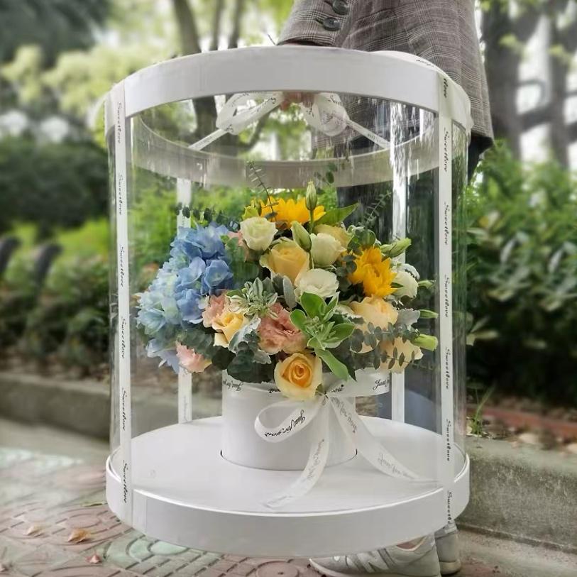 春风十里-豪华360全景高端鲜花礼盒